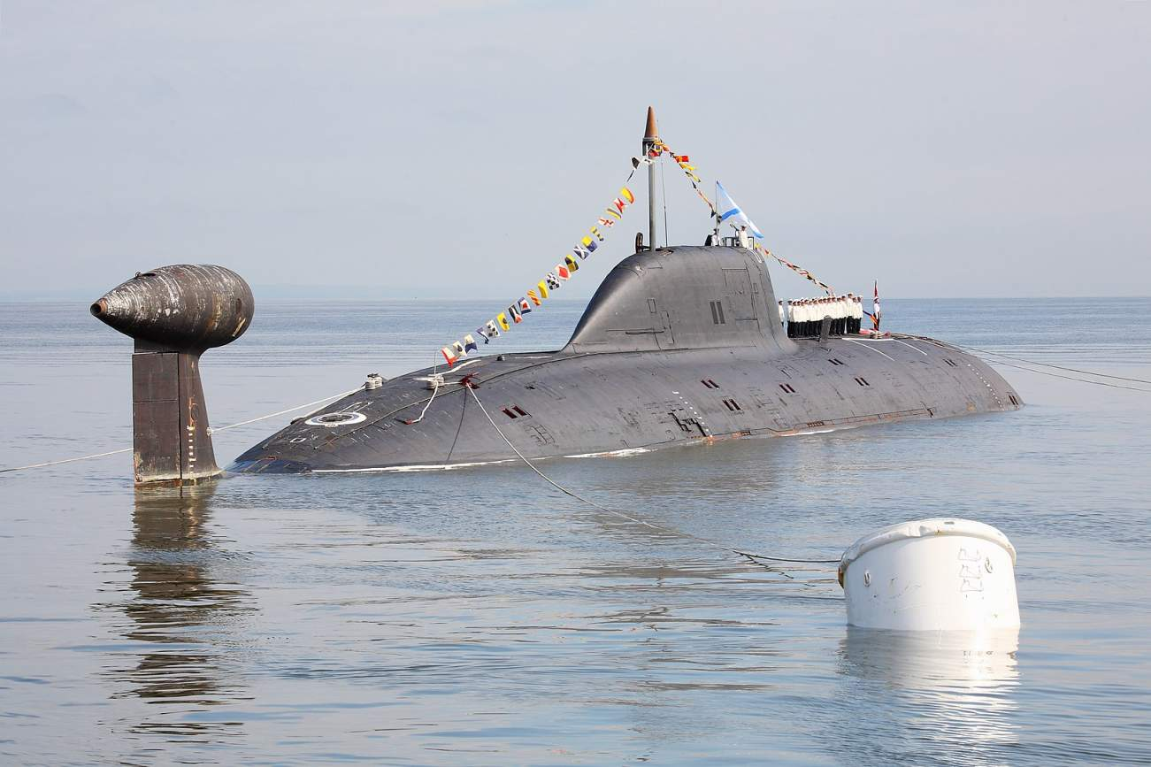 Back in 2017, Russian Nuclear Submarines Fired Torpedoes at Each Other