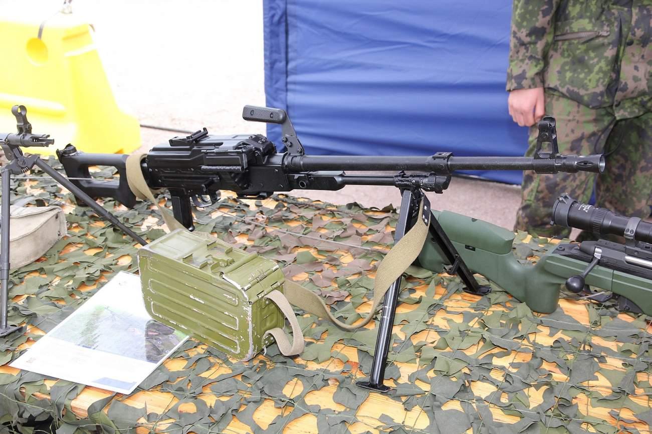 Meet The Russian Military's Super Machine Gun