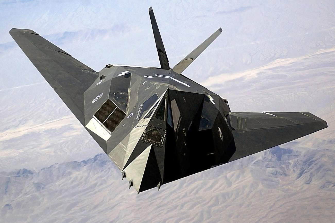 How America's F-117 Nighthawk Started Flying Against The U.S. Air Force