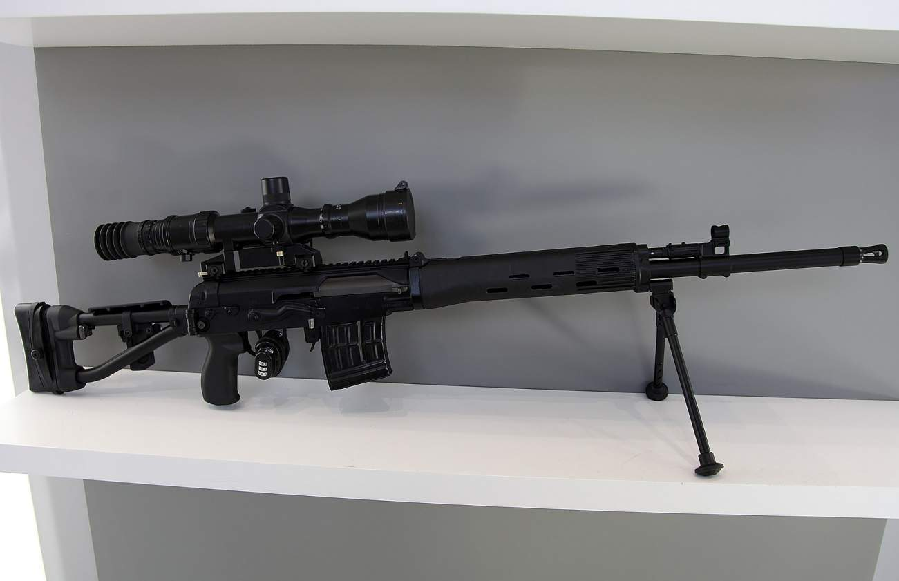 Dragunov Sniper Rifle: Russia's Most Powerful Weapon of War?
