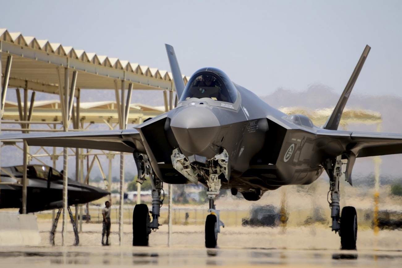 RIP F-35: DARPA Thinks the Future of Air Warfare Might Not Be Stealth