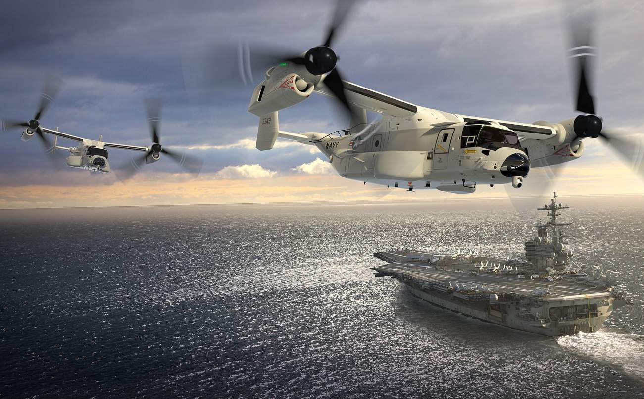 This Picture Could Very Well Be the Future of U.S. Navy Aircraft Carriers