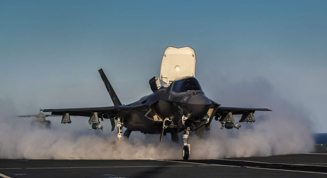 Watch the F-35 Go Into 'Beast Mode'