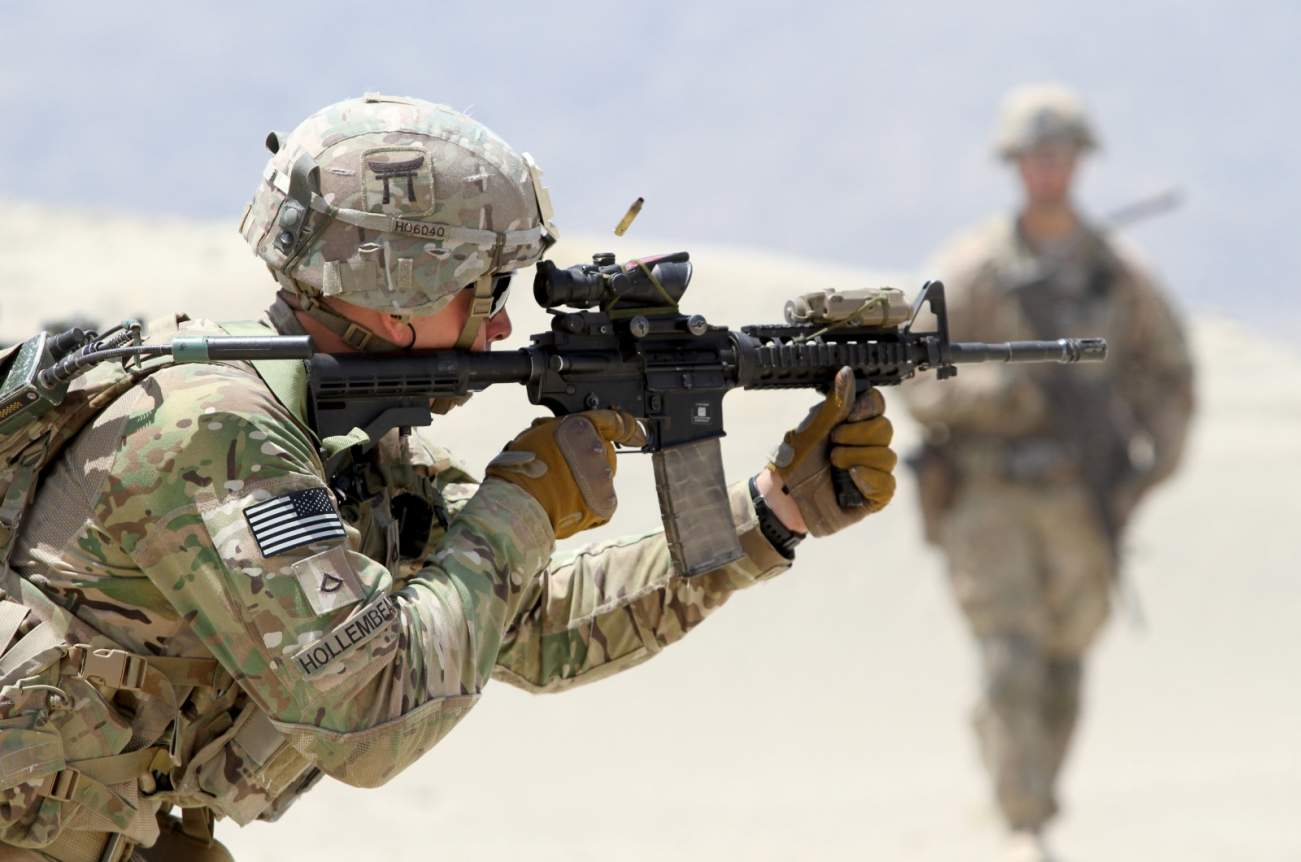M4 Carbine: This Rifle Is So Good That The U.S. Army Can't Lose a Shootout