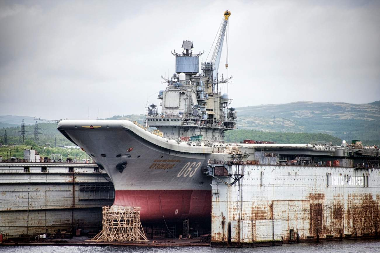 No, Russia Doesn't Need Aircraft Carriers