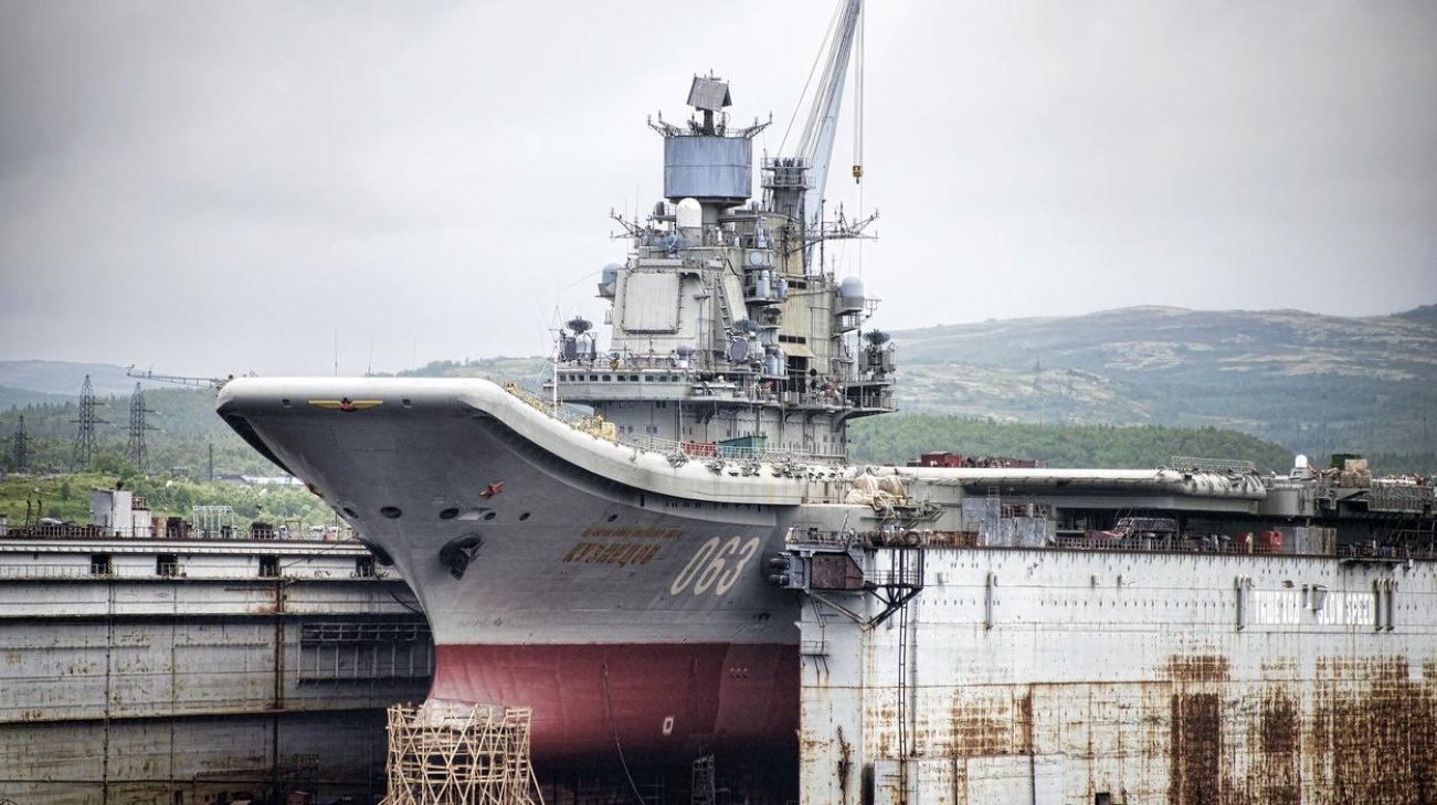 Russia's Navy Dream: To Become an Aircraft Carrier Superpower (It Won't Happen)