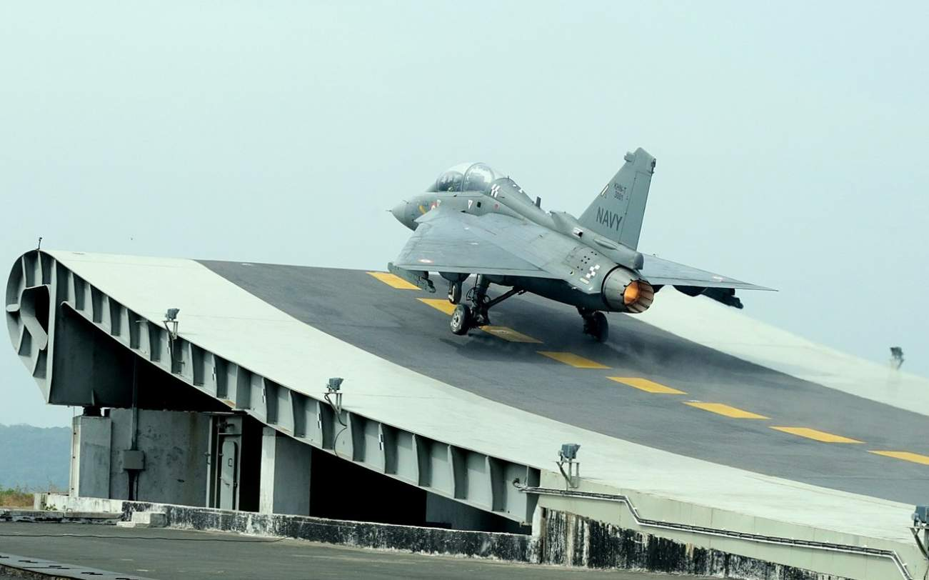 India's Tejas Fighter Just Performed Its First Carrier Landing—Does a Twin-Engine Model Have a Future in the Indian Navy?