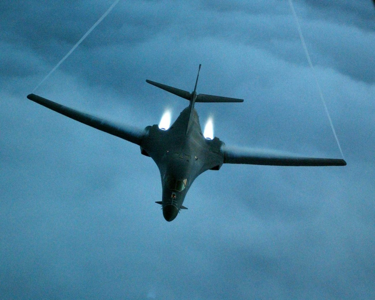 Secret Weapon: The B-1 Lancer Bomber Could Fly Under Enemy Radars?