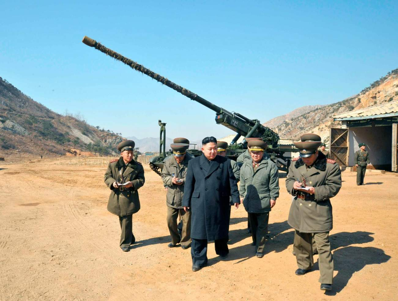 North Korea's Artillery Is Ready To Give America Hell