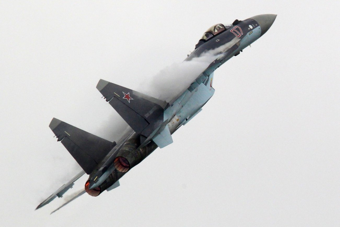 Don't Underestimate Russia's Su-35. This Plane Is a Monster Jet.
