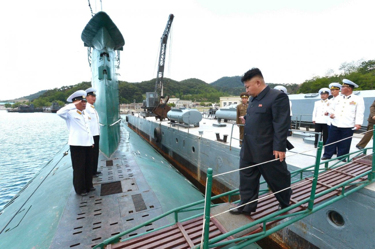 These North Korean Submarines Met An Enemy They Had No Hope Of Defeating