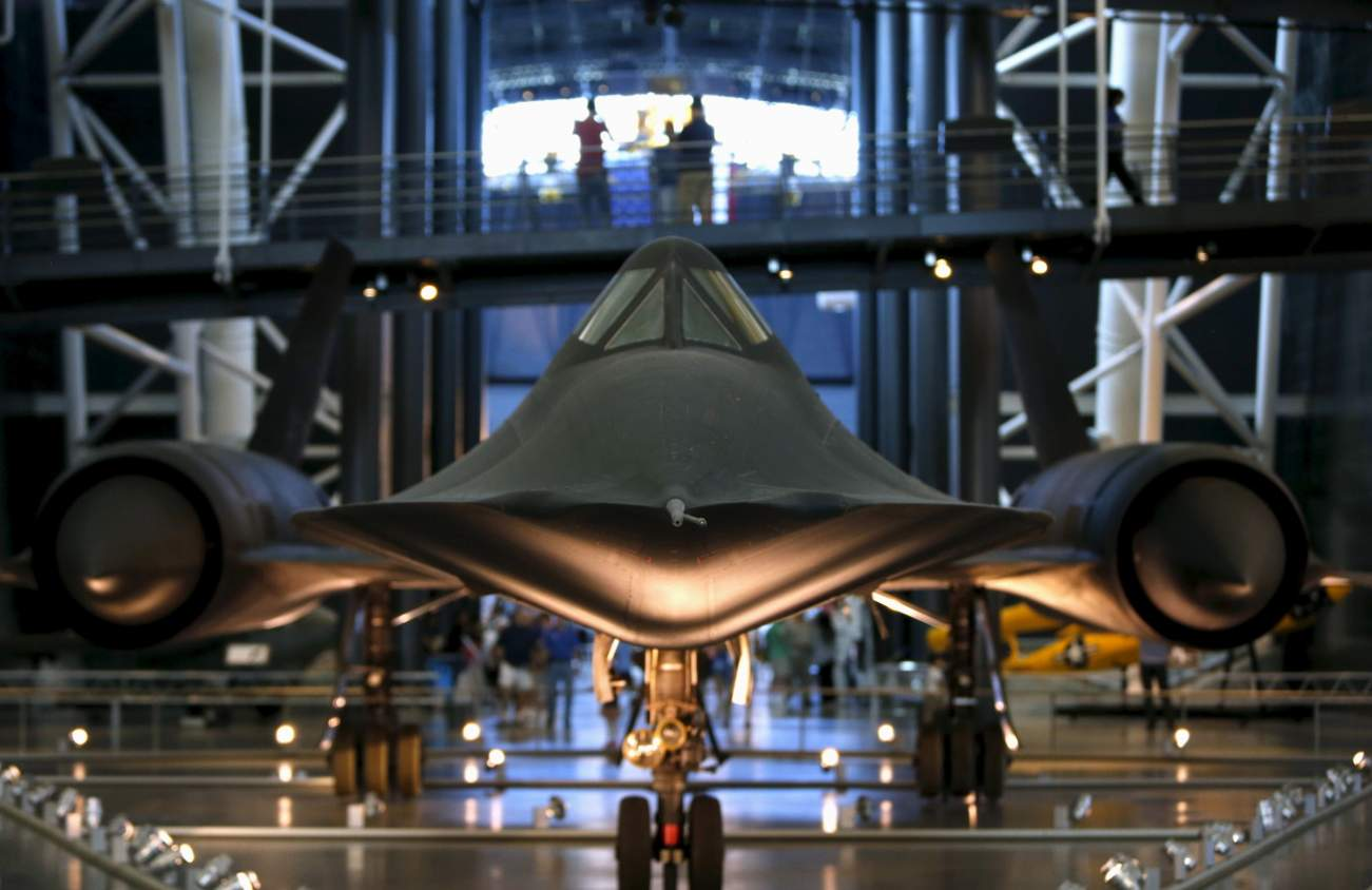Forget Stealth—the SR-71 Blackbird Could Simply Outrun Missiles