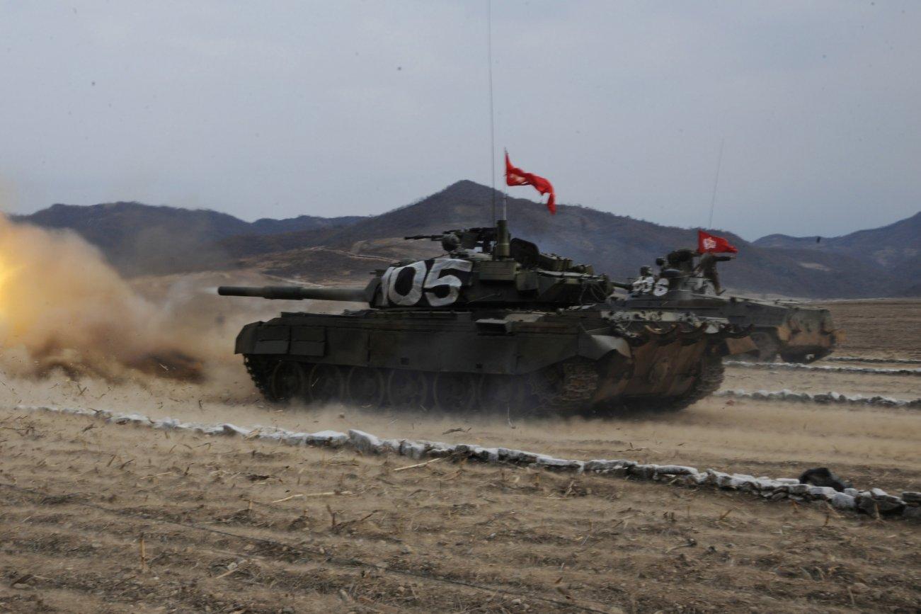 North Korea's Best Battle Tank Is Old School (Like 1960s Technology)