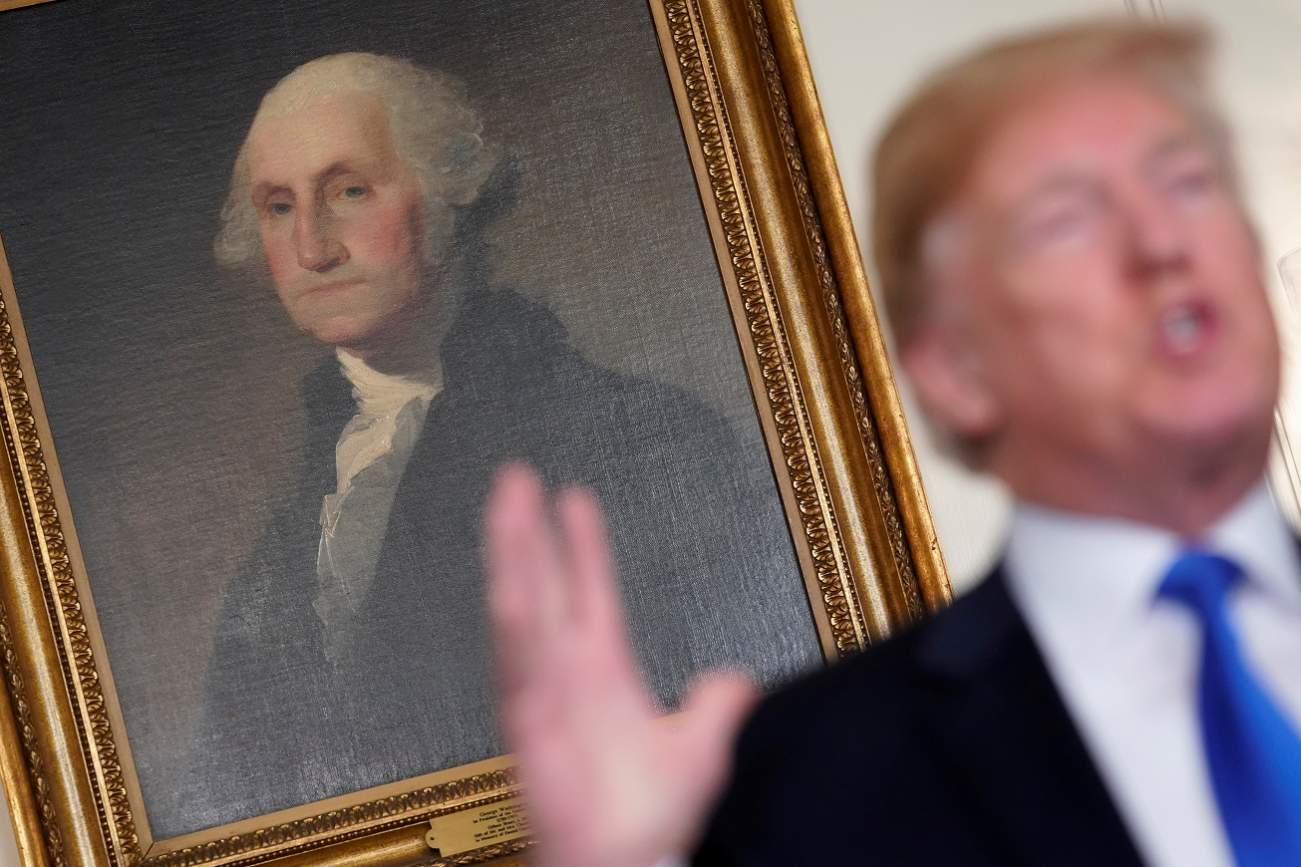 Donald Trump Loves Those Big Tariffs. So Did Our Founding Fathers.