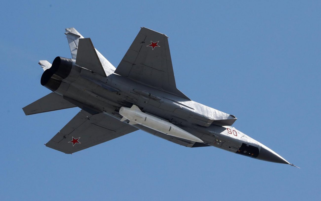 Why Is Russia Reviving the Old MiG-31? Think Drones.