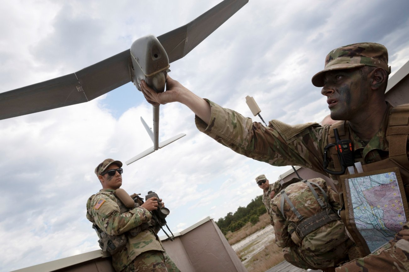The Army Has Found The Best Method To Killing Enemy Drones