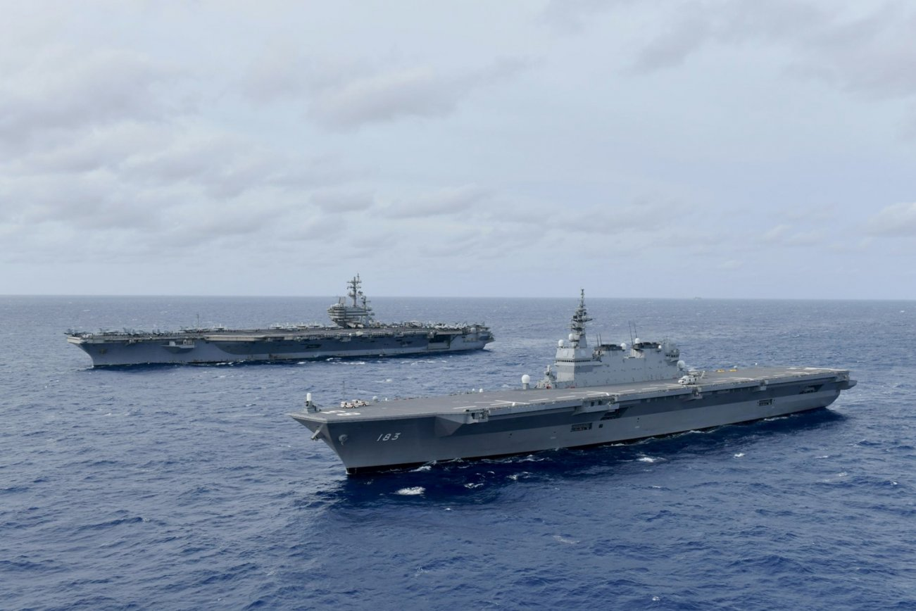 Japan And China Are Gearing Up For Total Naval Warfare