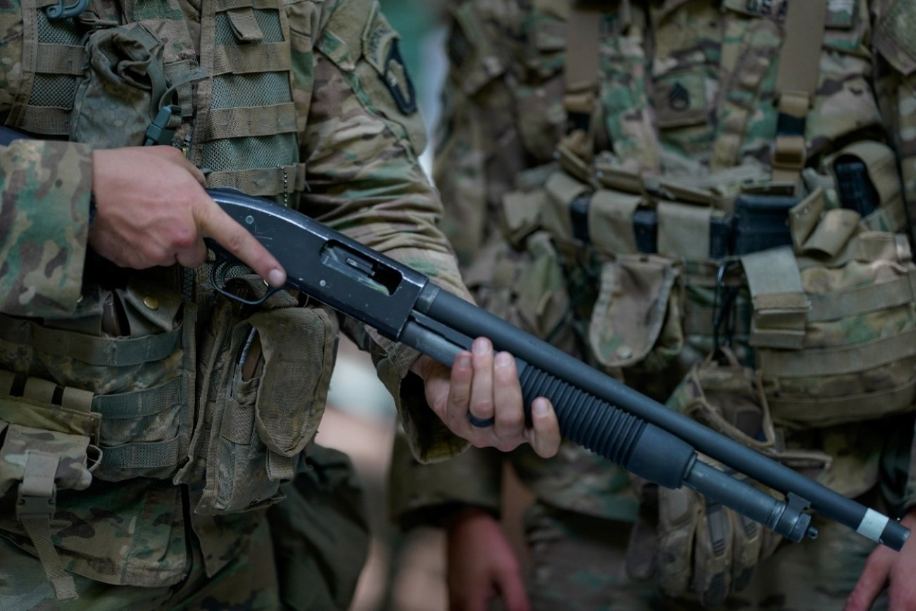 The Military Cannot Get Enough Of Its Shotguns (For Good Reason)
