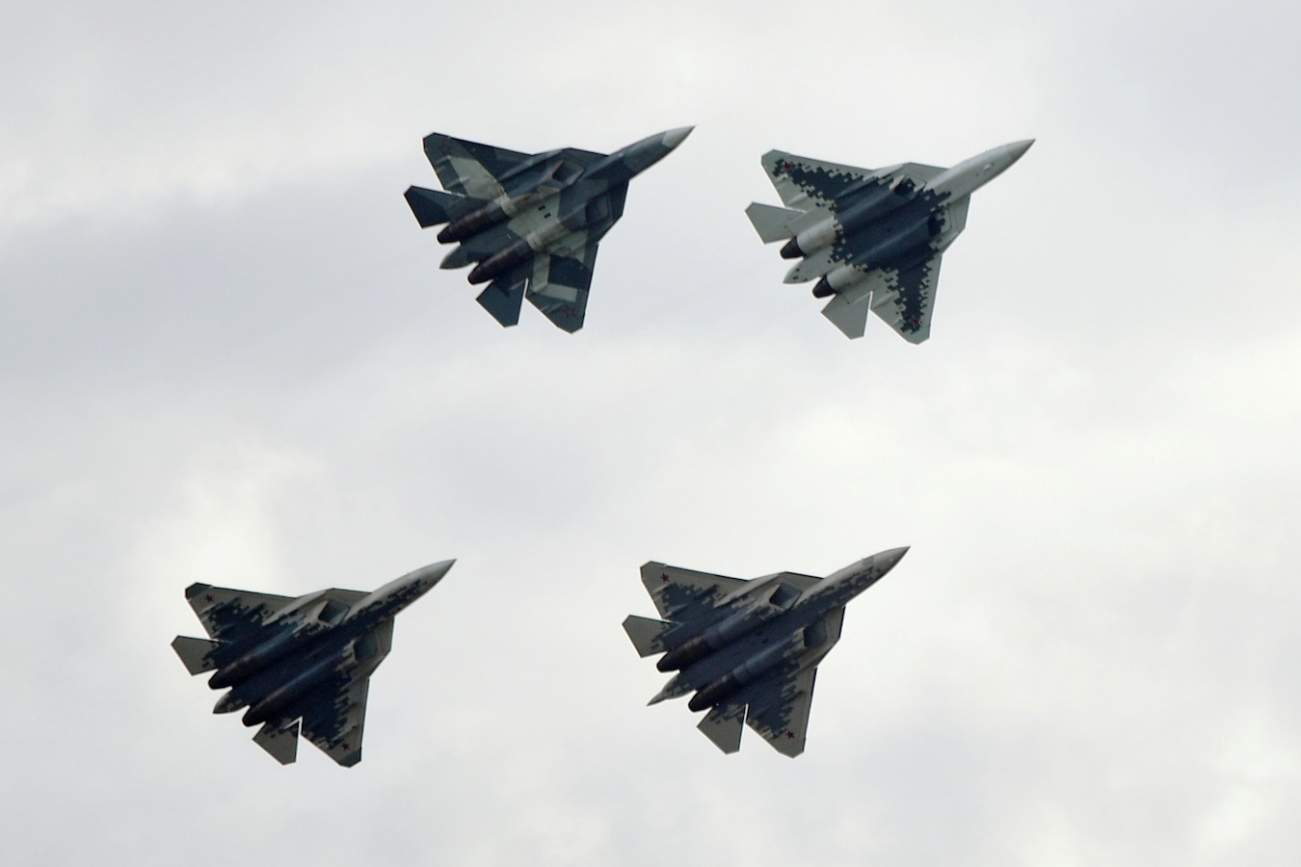 Russia's Su-57 Fighter Is All Hype