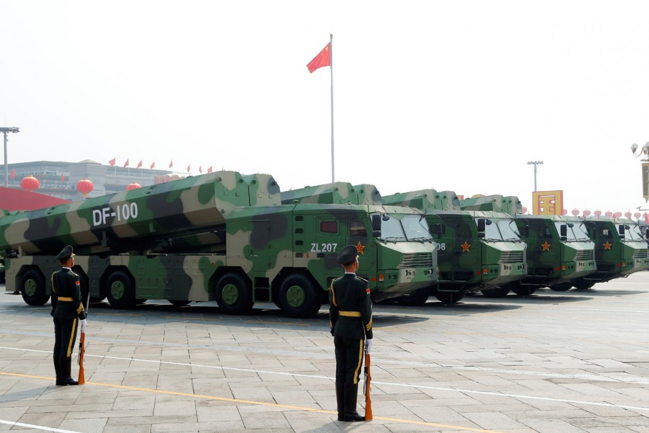 China's DF-100 Missile Could Terrorize the U.S. Navy