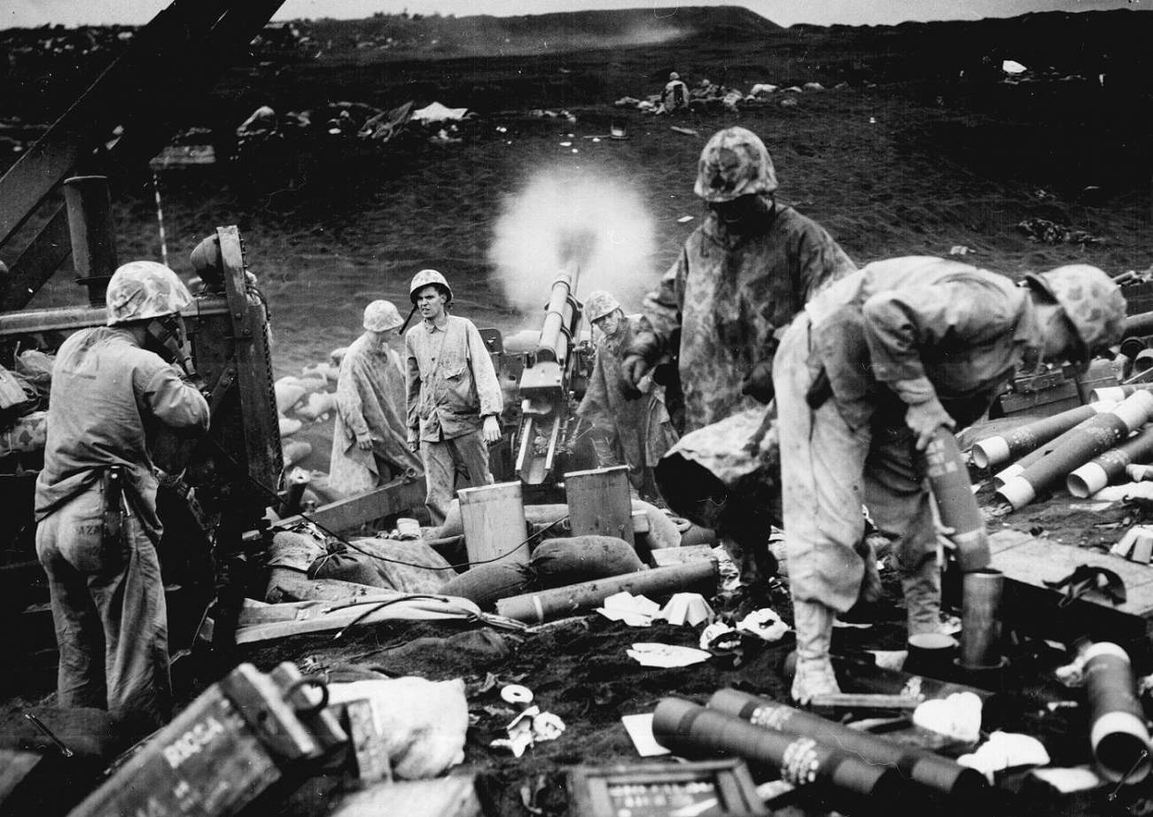 History You Can See: Iwo Jima Footage Shines a Spotlight on Marines