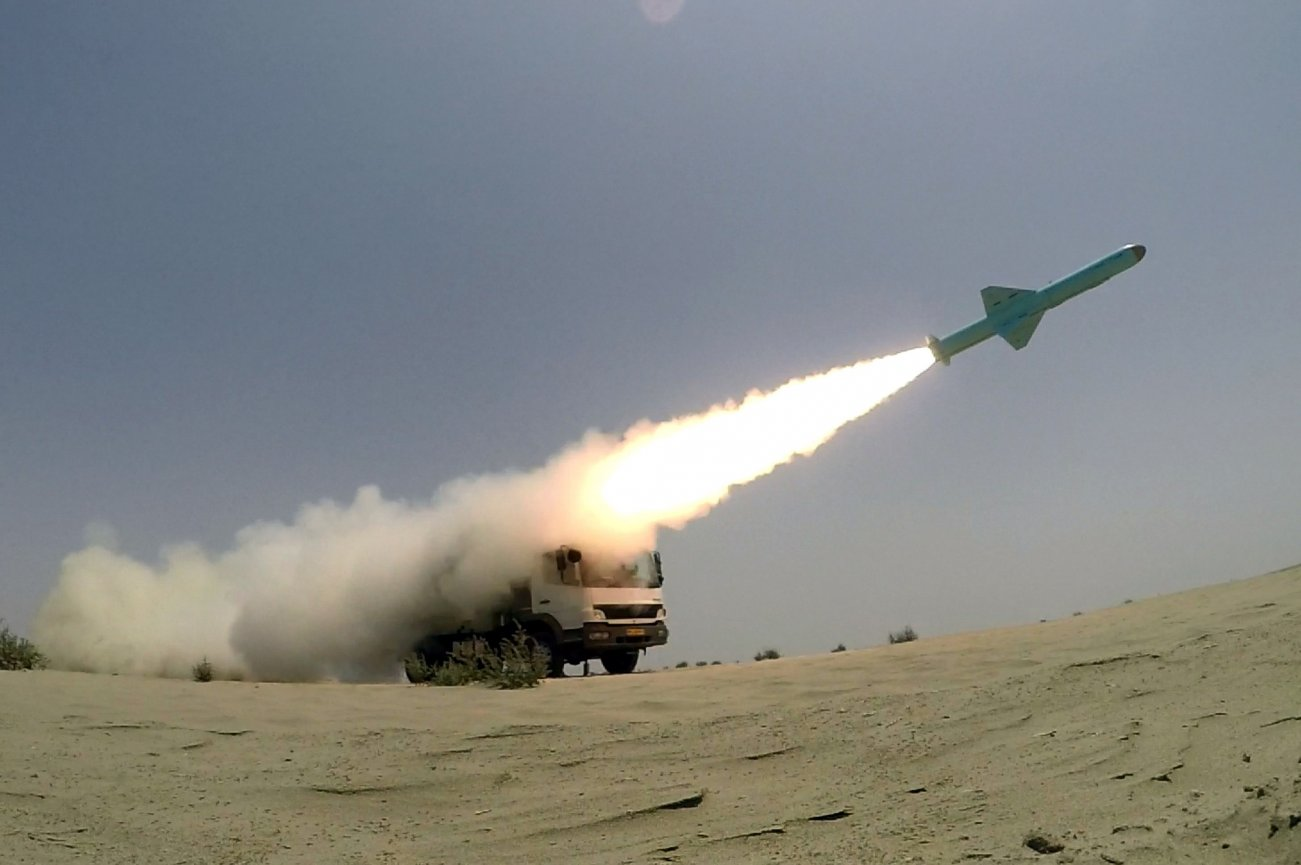 Iran's Military Is Armed to the Teeth with Lots of Missiles