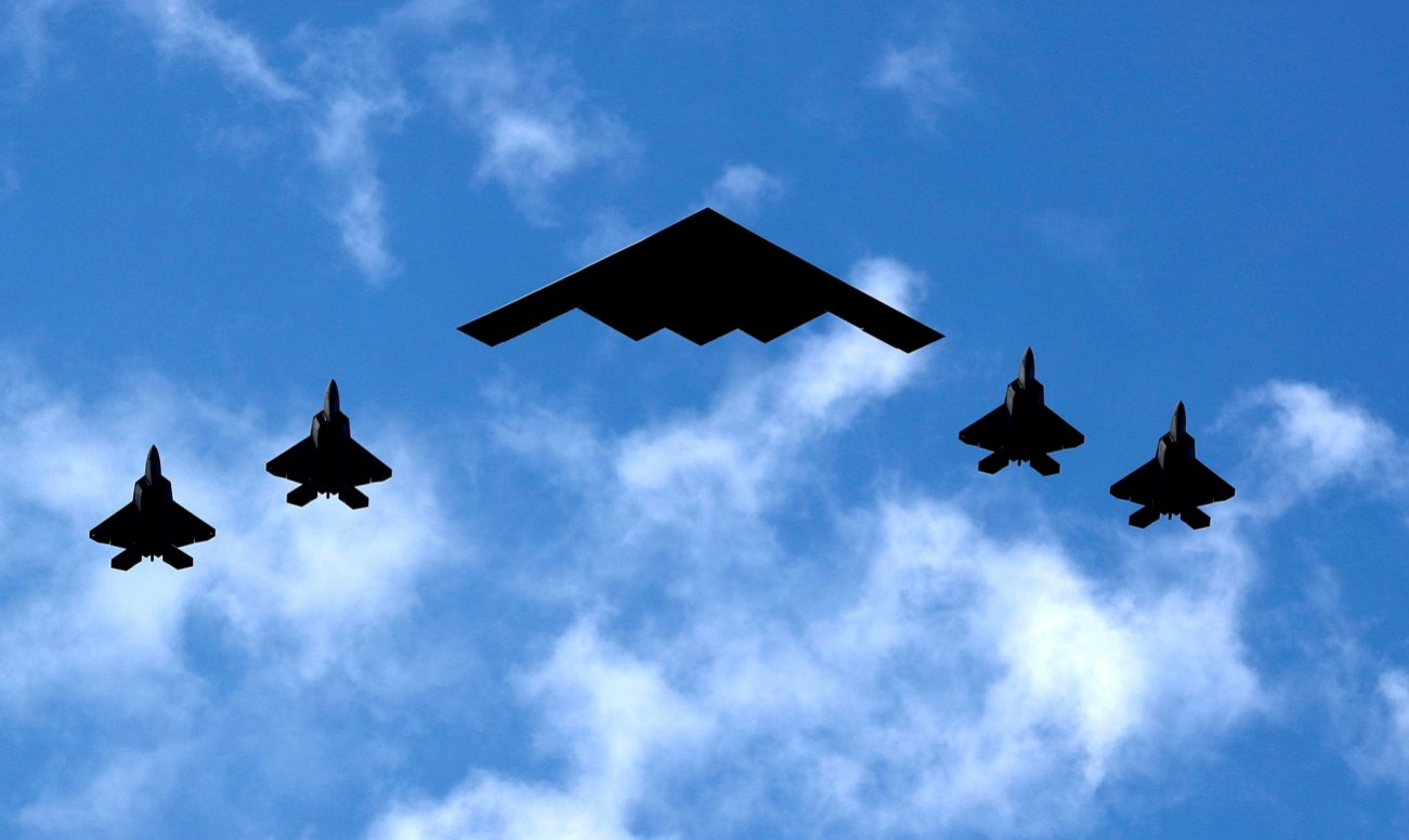 B-52, B-1B and B-2 Bombers Are All Headed to the Super Bowl