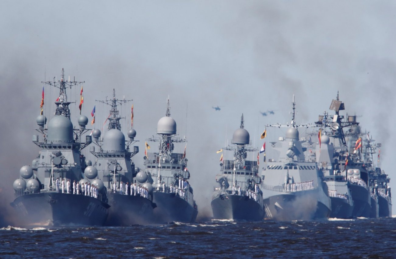This Russian Frigate Is Armed to the Teeth with Lots of New Missiles