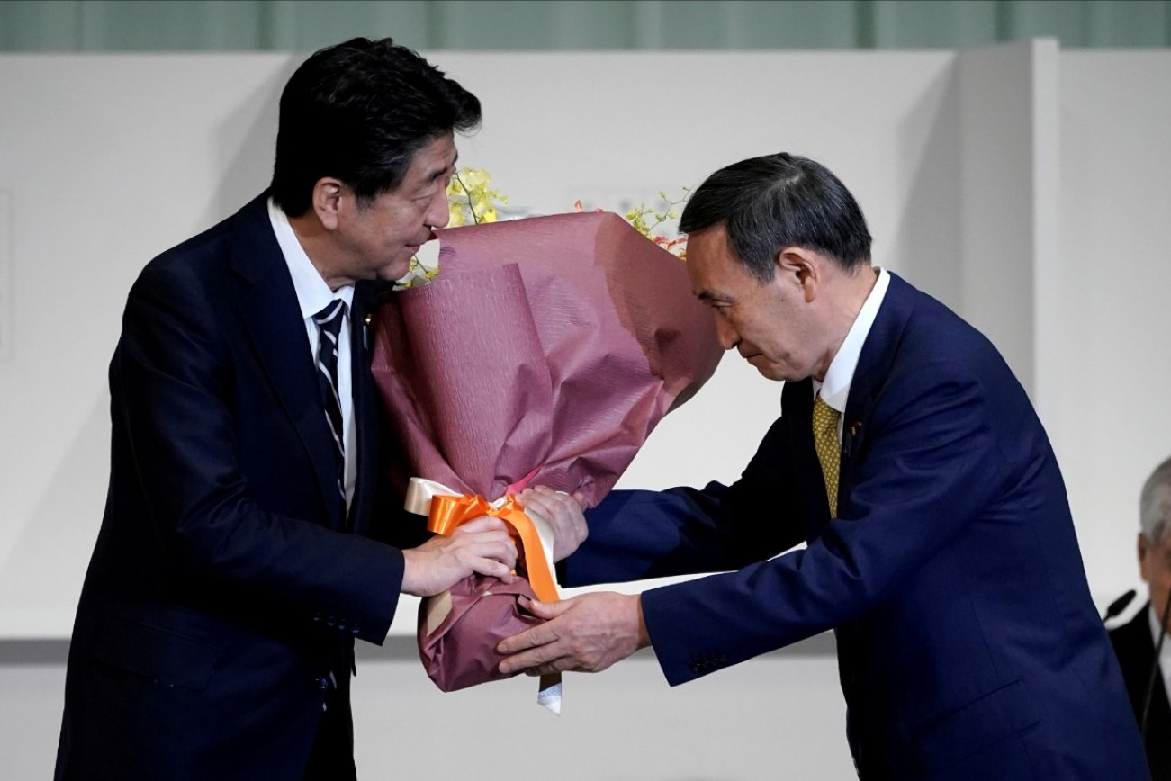After Abe's Resignation, Japan's New Prime Minister Has His Hands Full In Asia