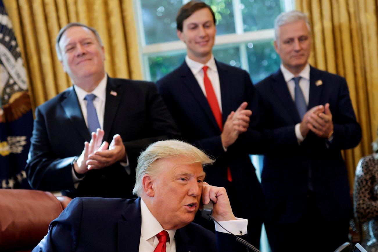 Donald Trump's Fire-Sale of International Peace Agreements