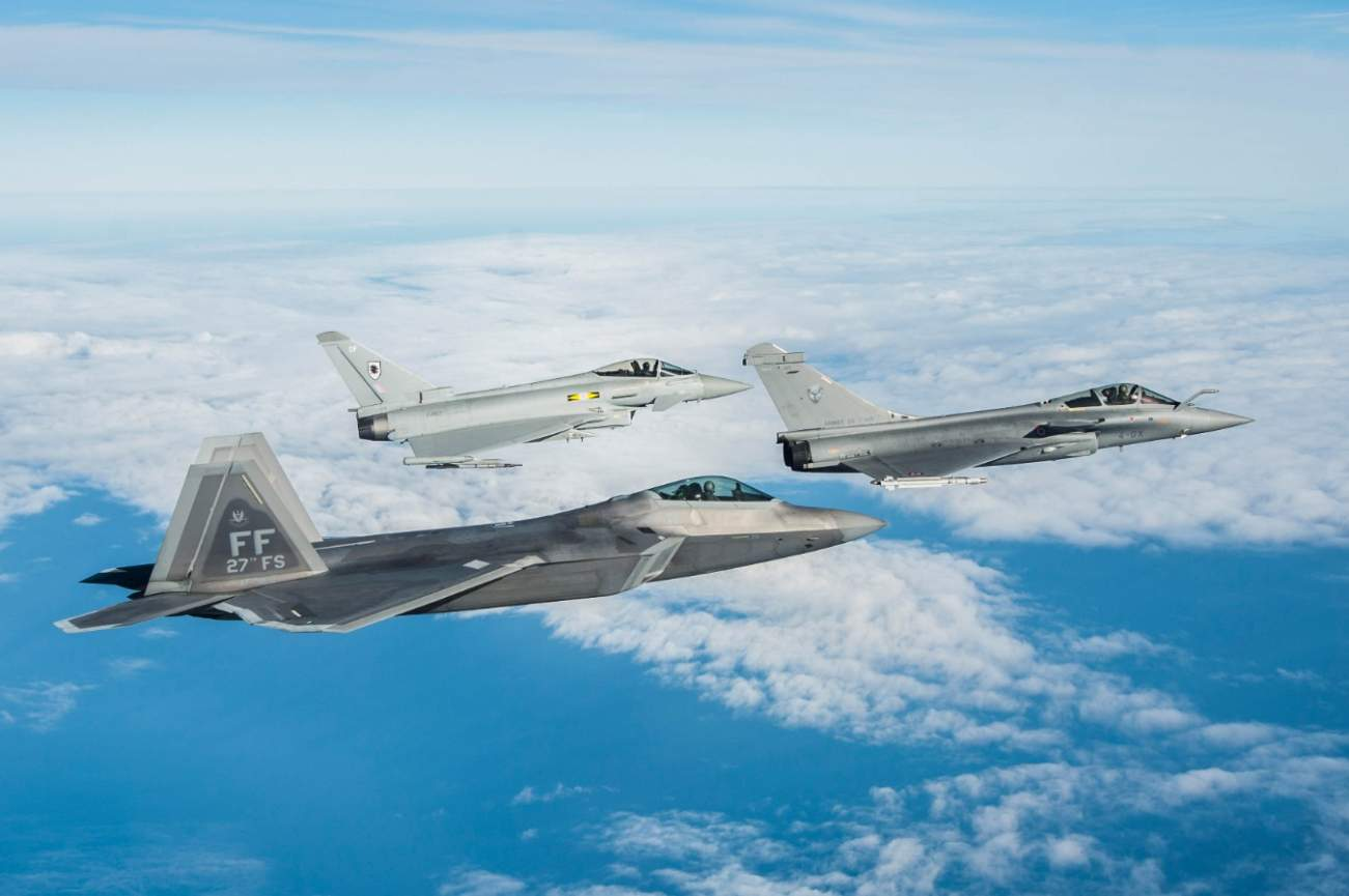 America's F-22 Was Invincible... Until It Met The French Air Force