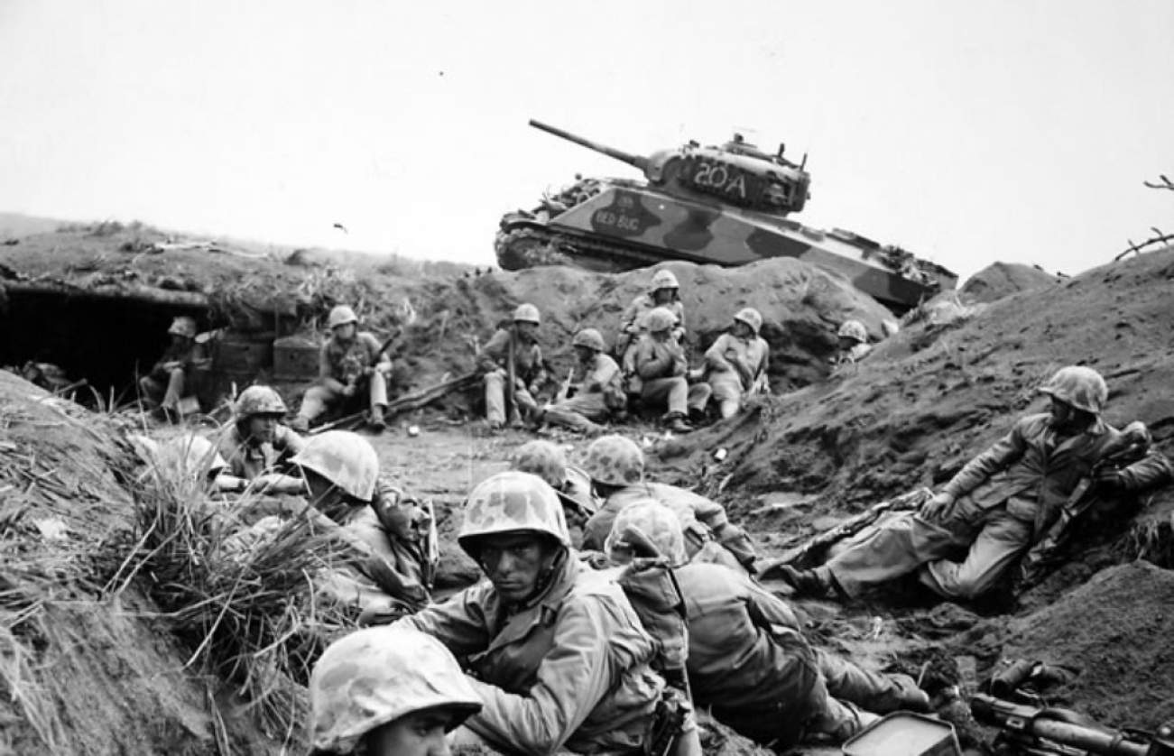 Marine Who Fought At Iwo Jima Recalls A Japanese Soldier Who Asked for Hot Chocolate