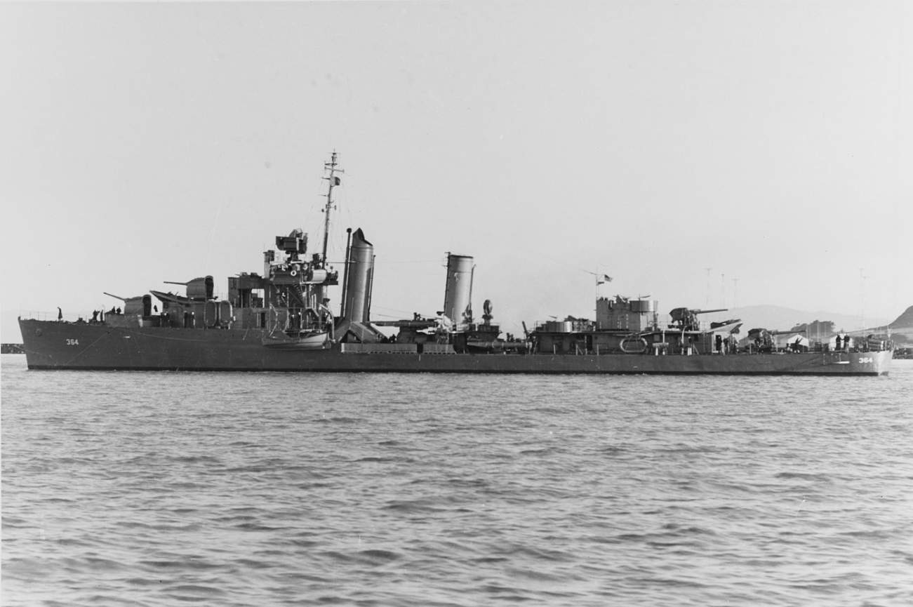 See This Ship? It Survived Three Brutal Japanese Kamikaze Attacks