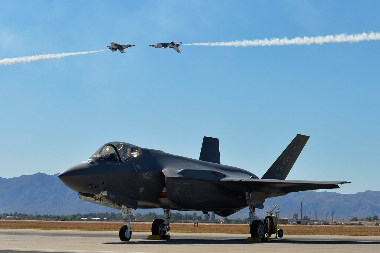 America's F-35 Is No Master Dogfighter, But That's Okay