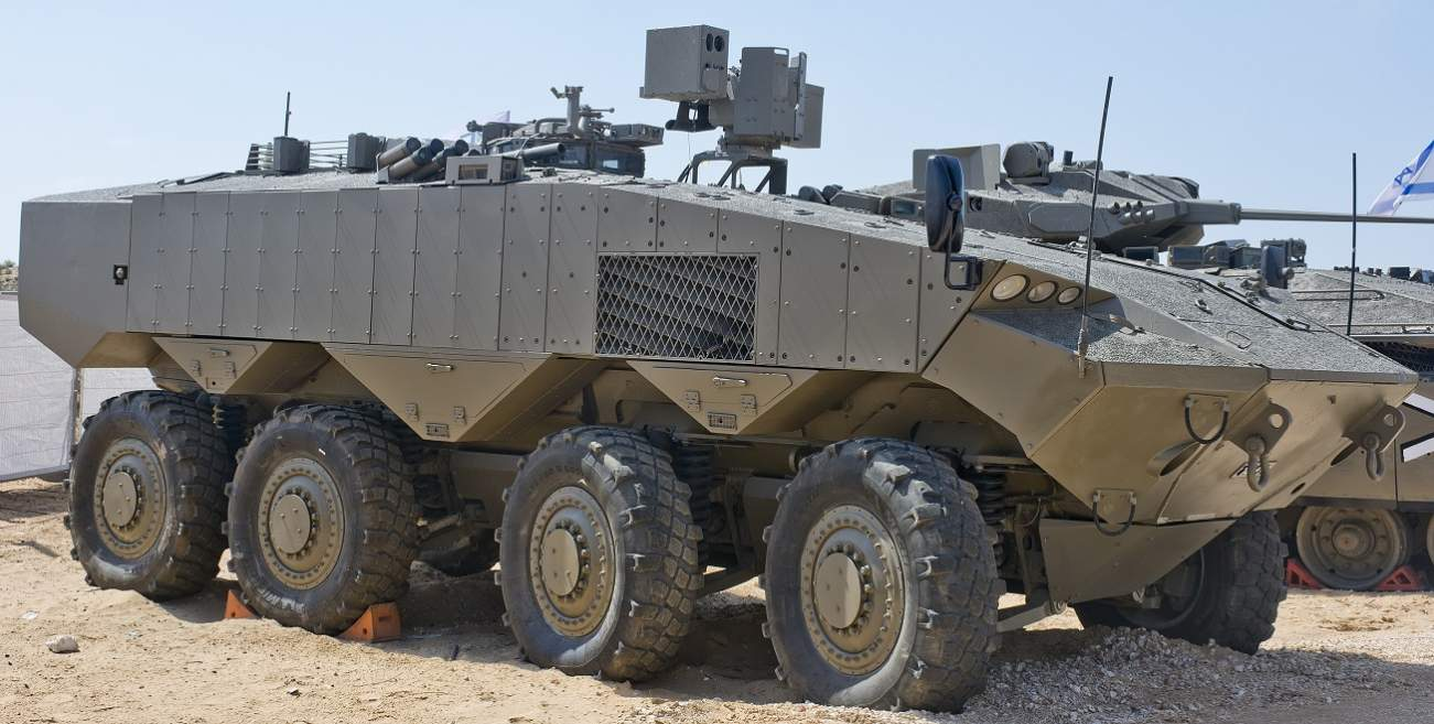 Meet Eitan: Israel's New Eight-Wheeled Armored Monster Weapon