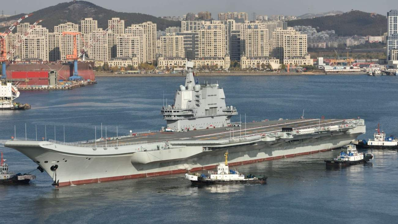 We Know 5 Things About China's New Aircraft Carrier