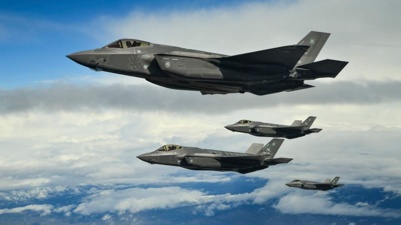 52 F-35s Ready for Anything: Why The Air Force's F-35 Elephant Walk Is A Real Game-Changer