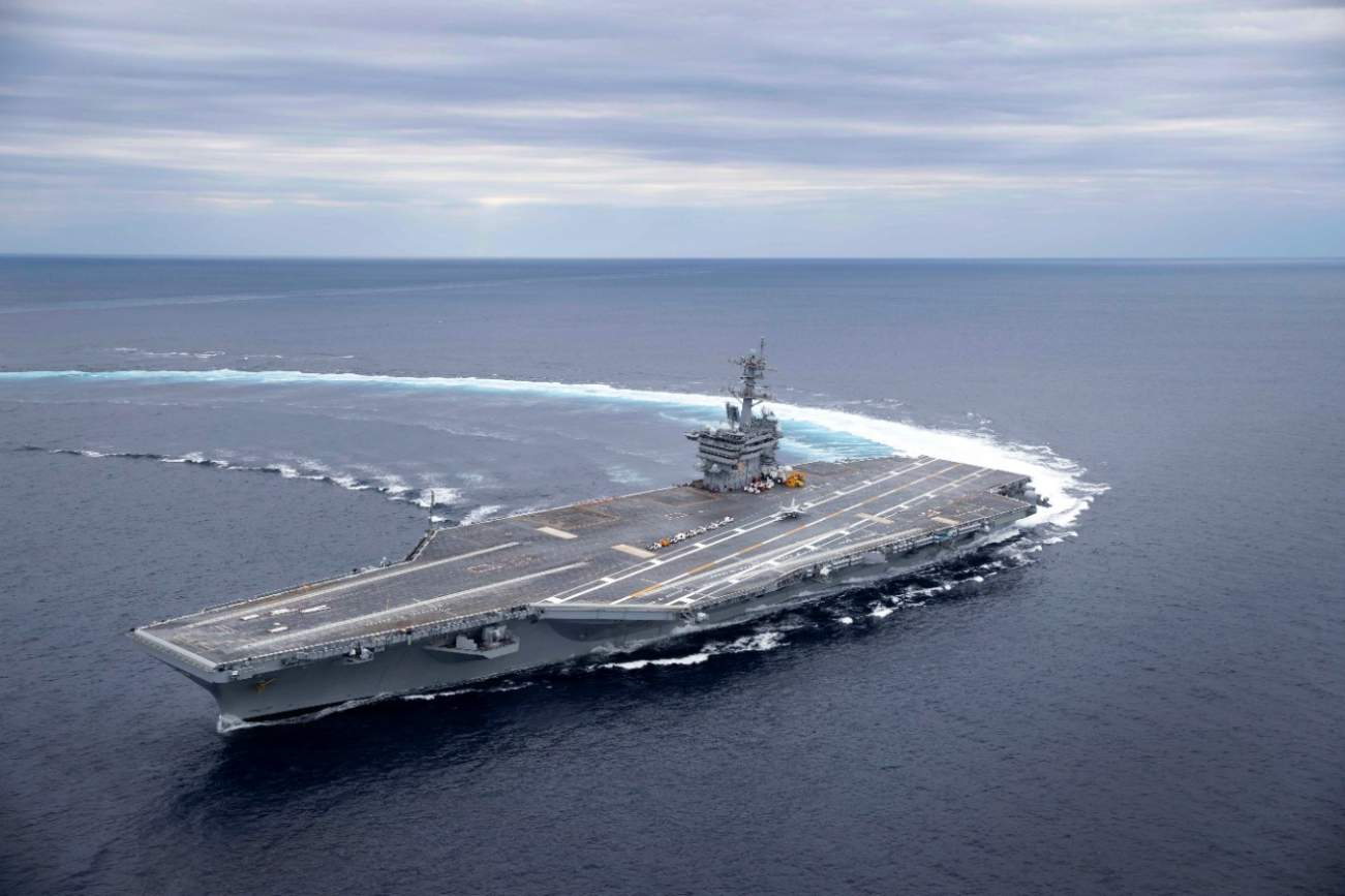 The Navy's Old Nimitz Aircraft Carriers Can Still Do Some Serious Damage