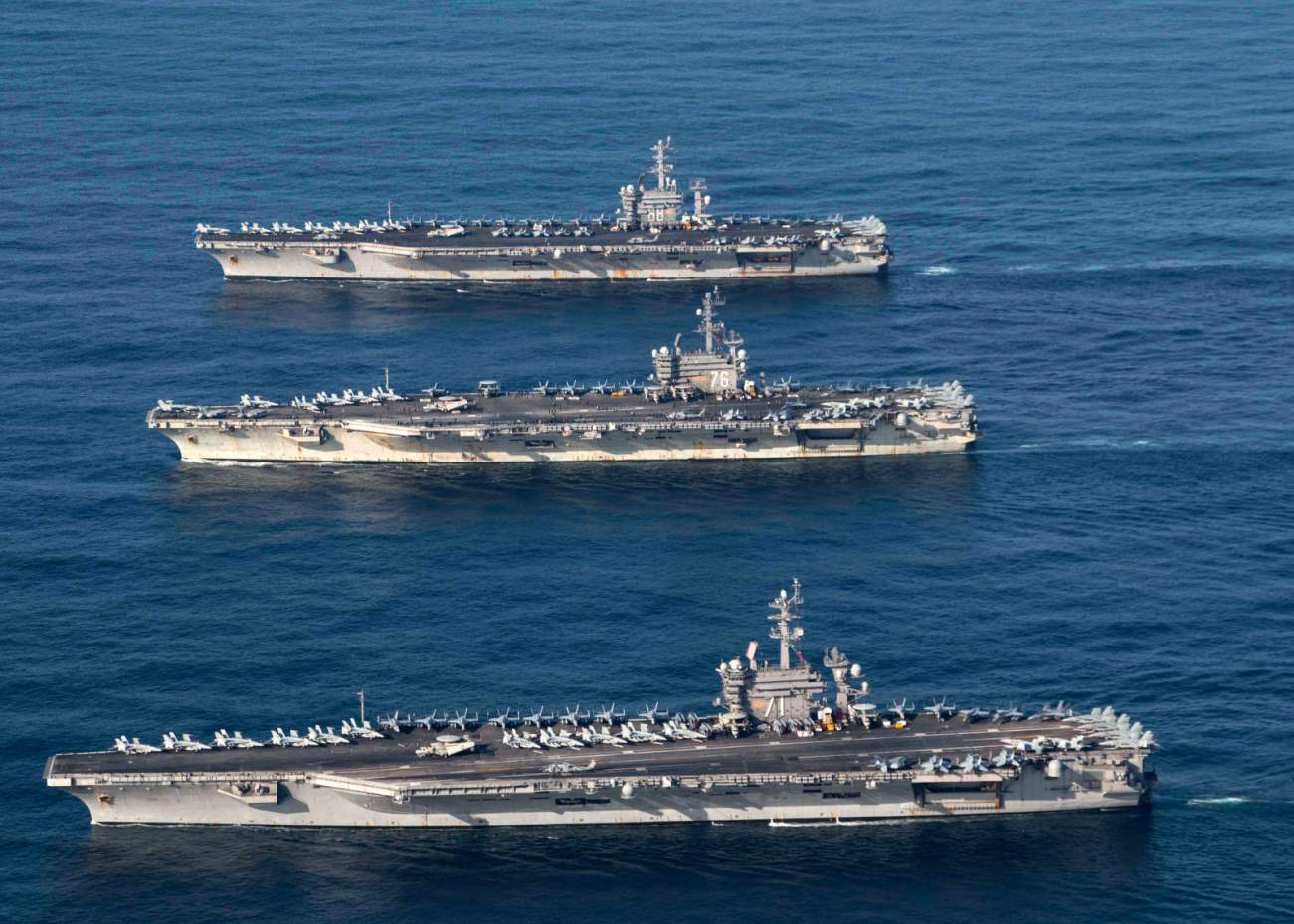 In 1982, America Sent Lots of Aircraft Carriers to Defense Israel