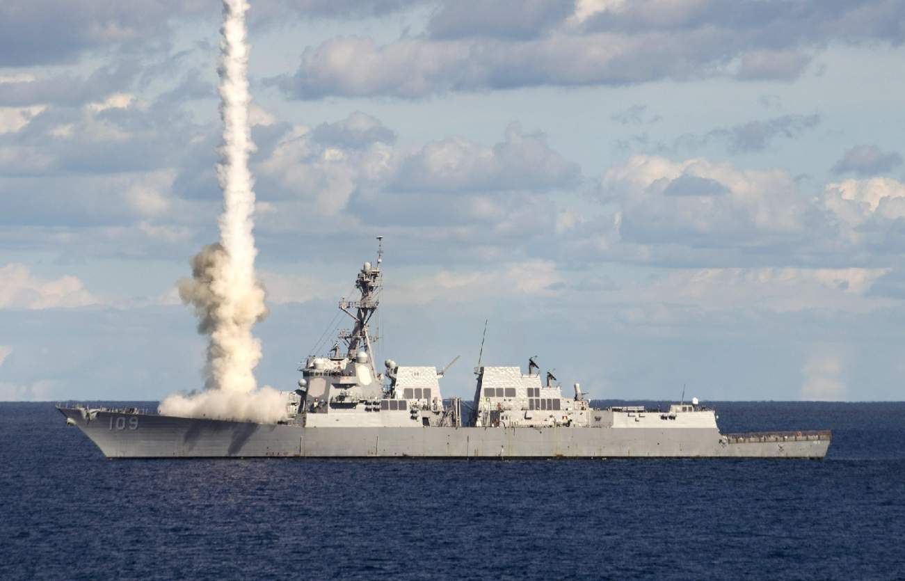 Check Out This New Laser Cannon on a U.S. Navy Destroyer