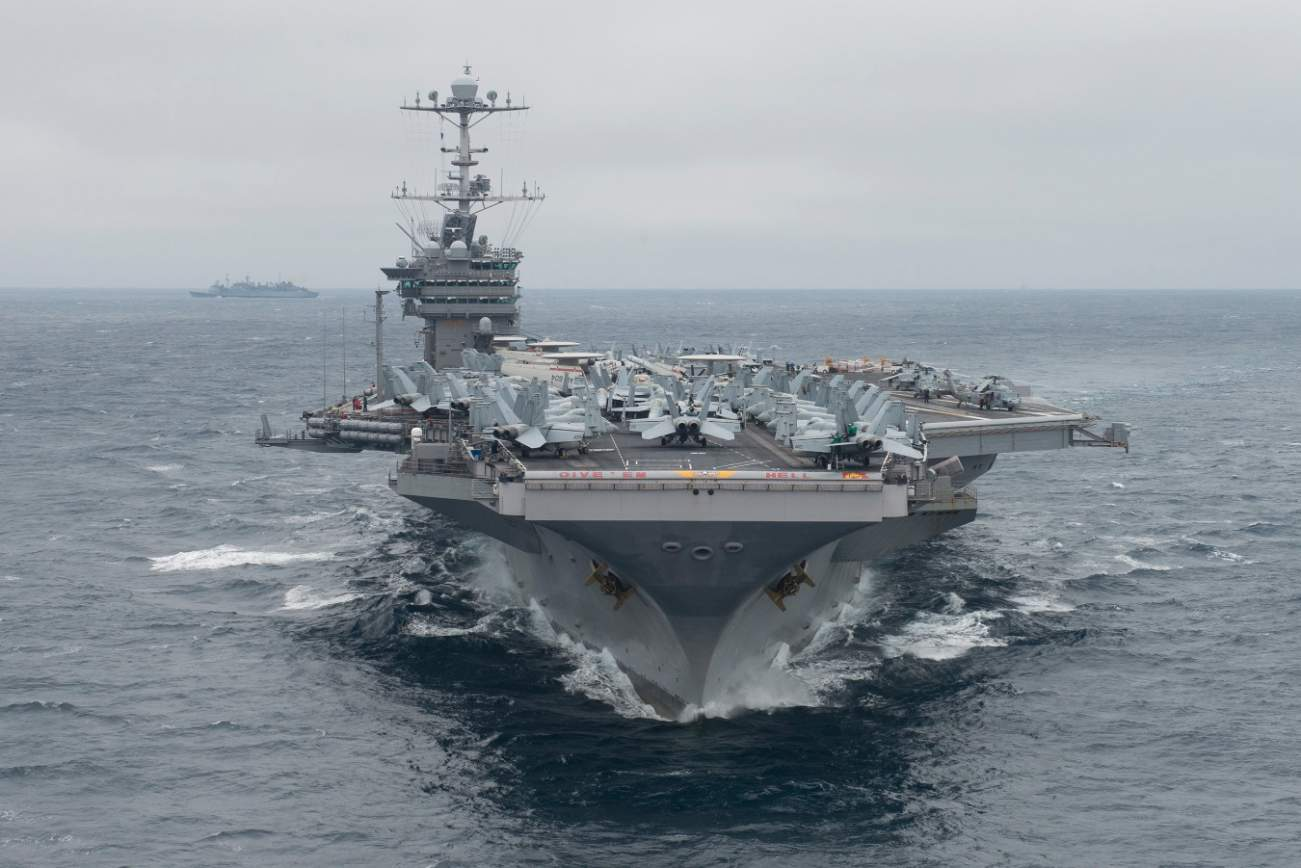 In A U.S.-Iran War, Tehran's Missiles Would Fly At American Carriers