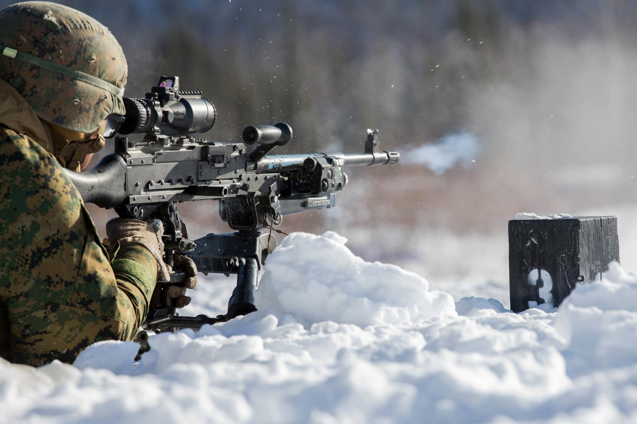 U.S. Marines Are Training to Fight in the Arctic