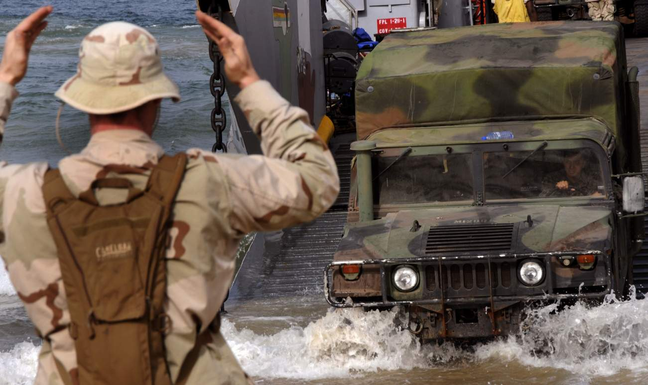 Why the Russian Military Stole A Bunch Of U.S. Marine Corps Humvees