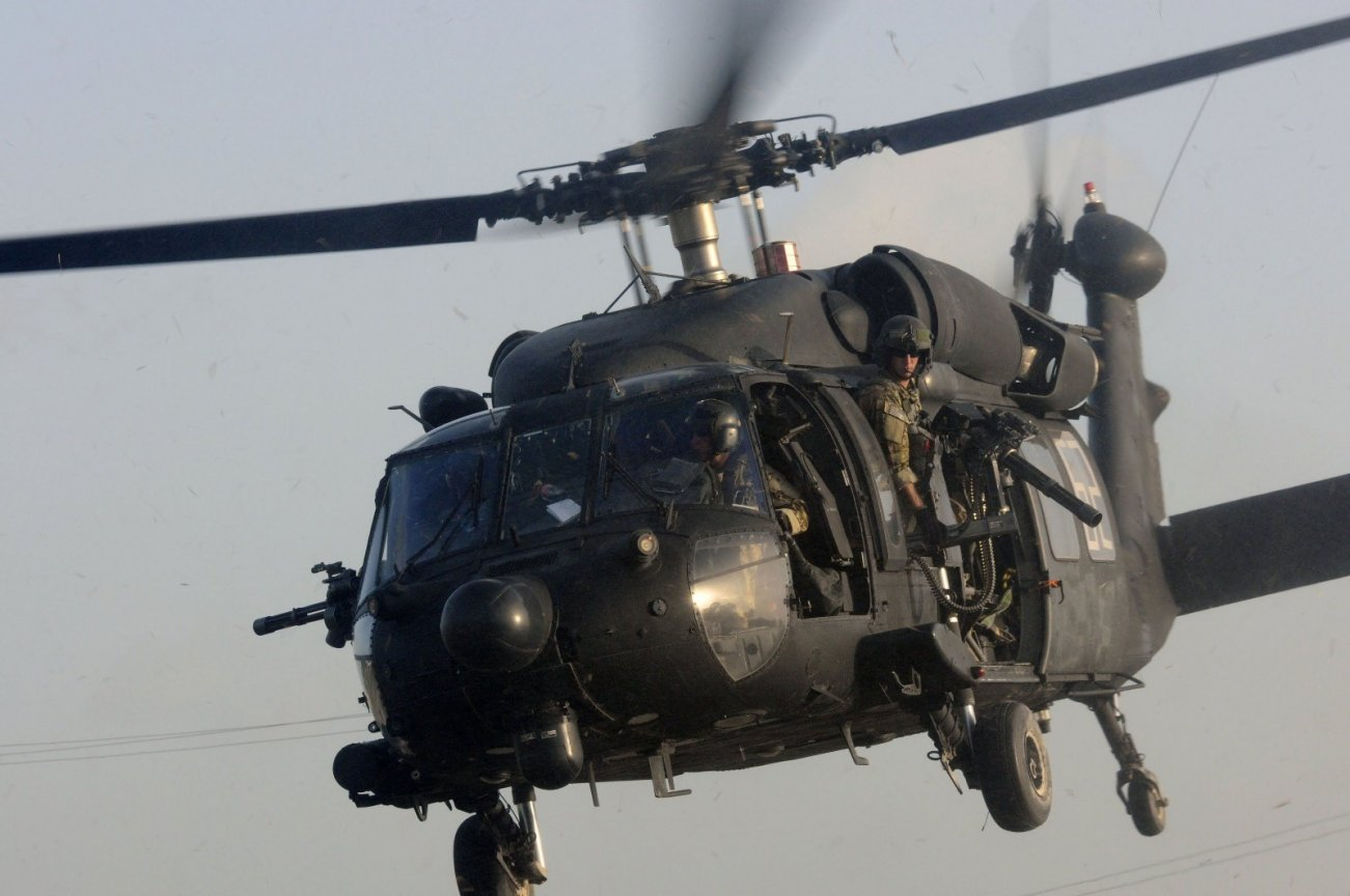 REVEALED: Inside the Black 'Nightstalker' Special Ops Helicopters Used in the Raid that Killed Baghdadi