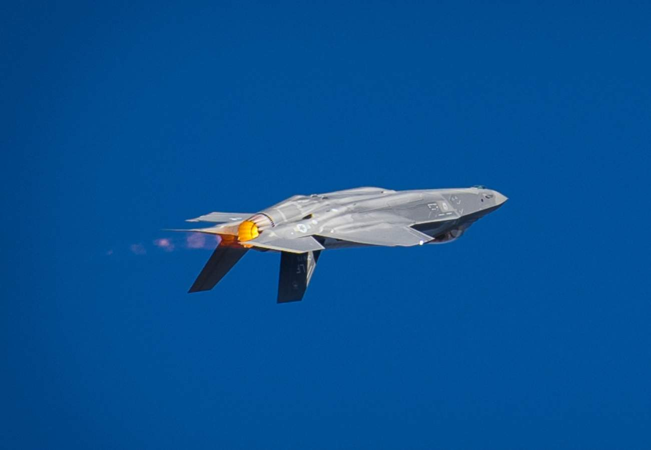 Video Alert: The F-35 Can Maneuver Like Nothing Else