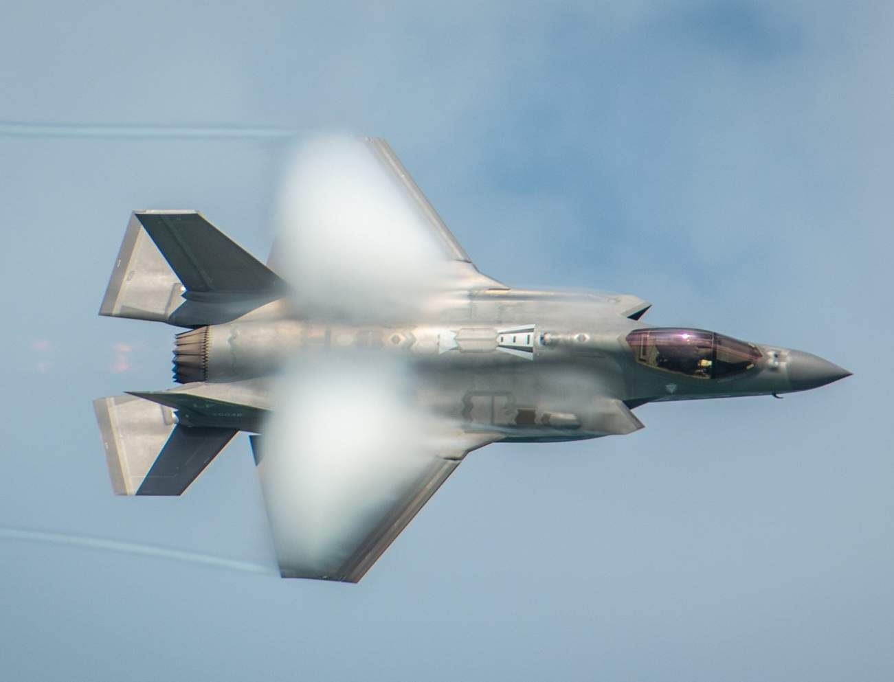 The F-35 Can't Fire Its Cannon Without Committing Suicide