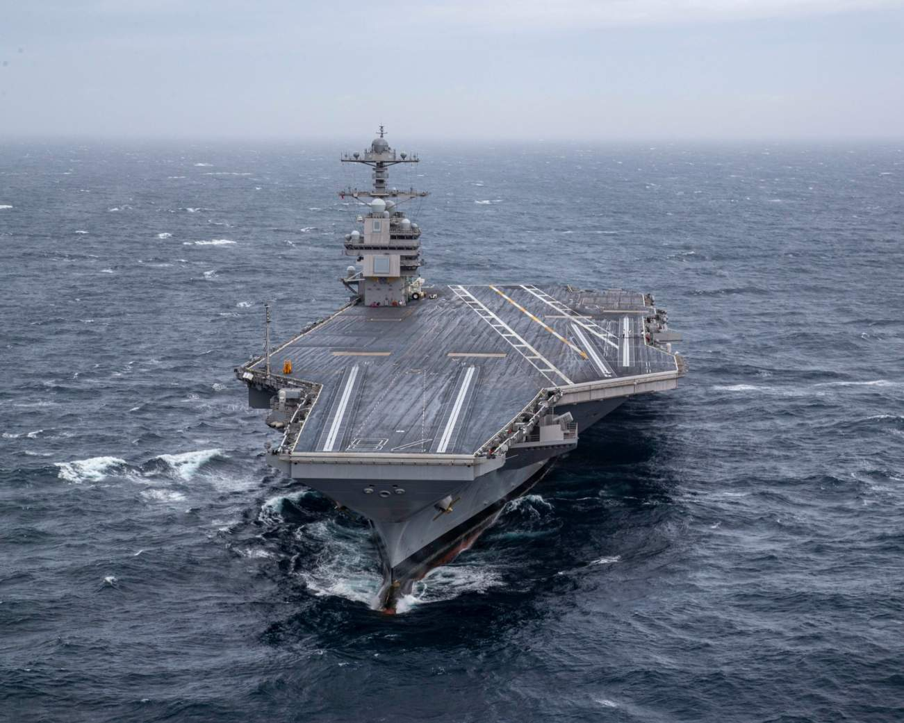 The Navy's Ford-Class Aircraft Carrier Is A Game-changer (And China and Russia Aren't Happy)