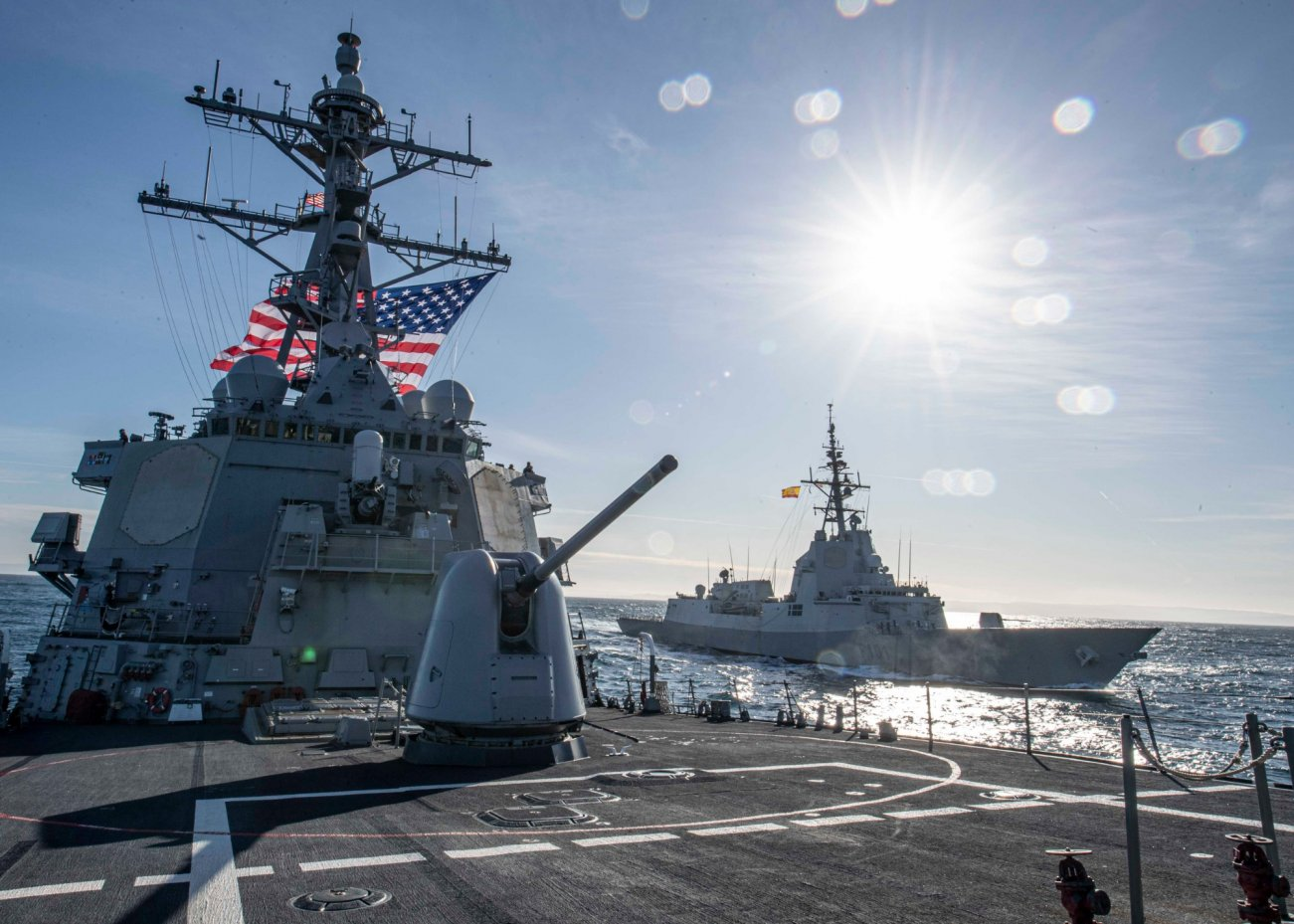 The Navy's New Guided Missile Frigate Has America's Enemies On Edge