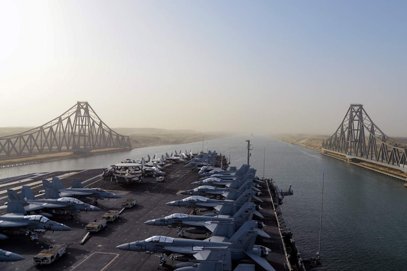 There Is No Going Back If Iran Sinks A U.S. Navy Aircraft Carrier