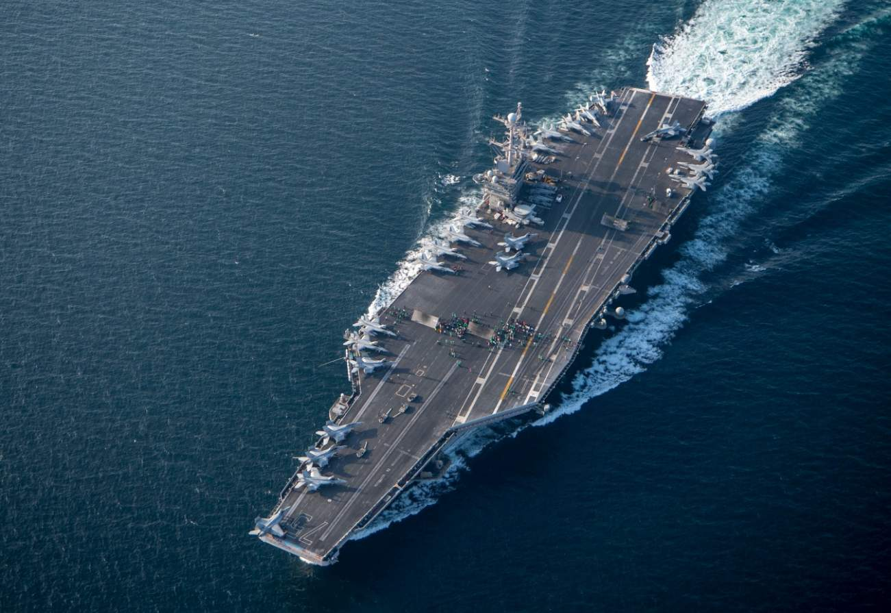 """We Will All Be Dead"" By the Time the U.S. Navy Gets 12 Aircraft Carriers"
